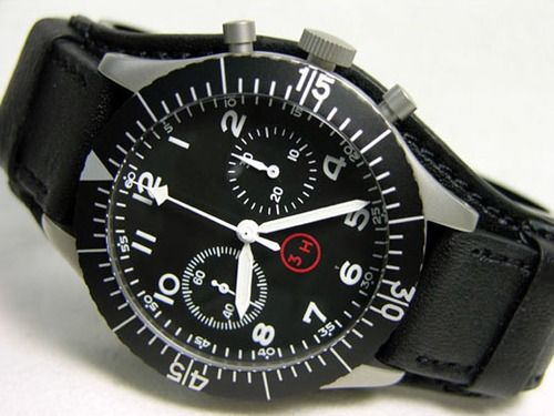 Cool black and white watch