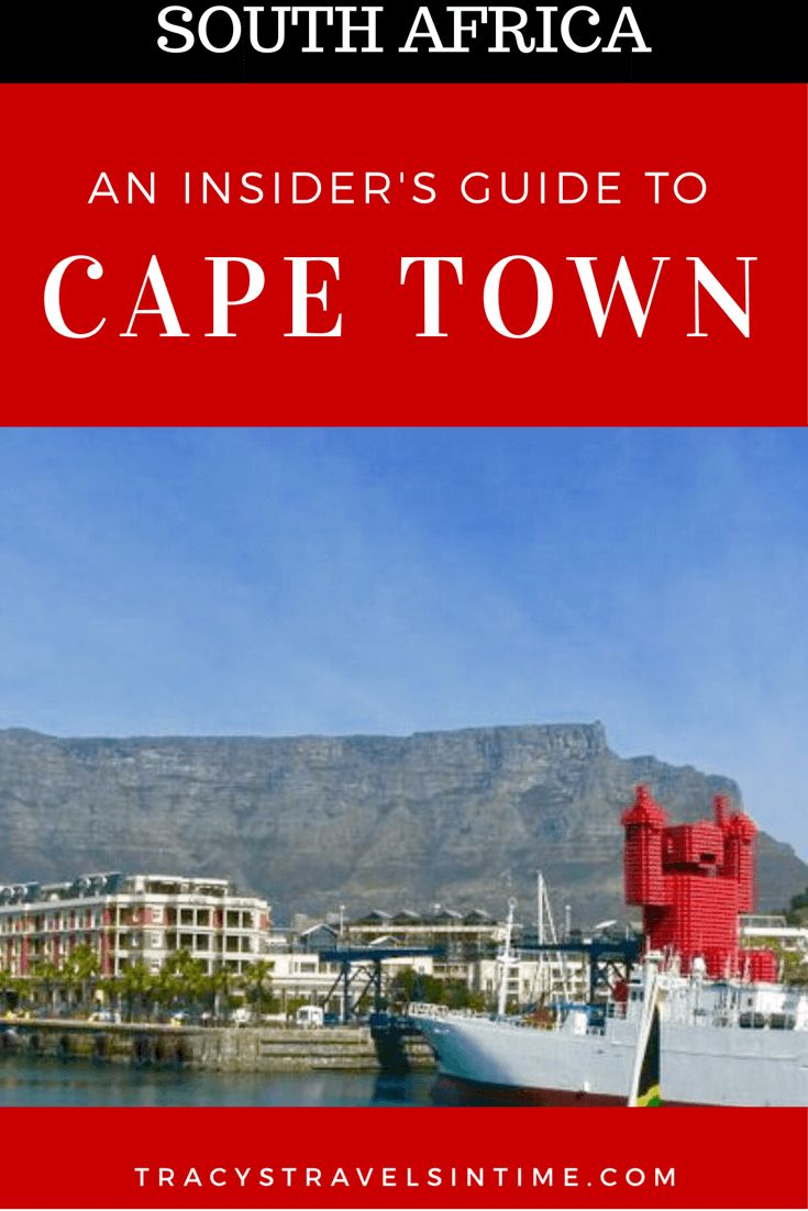 A comprehensive insider's guide to Cape Town in South Africa. What to see, where to stay and the best places to eat and much more!