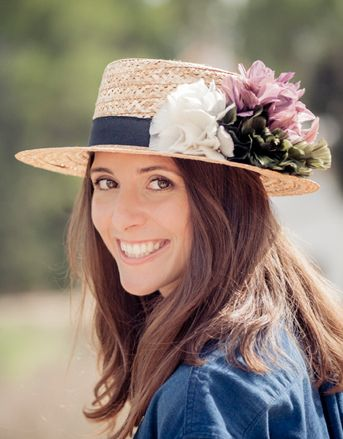 Canotier  Caroline Lucia Be