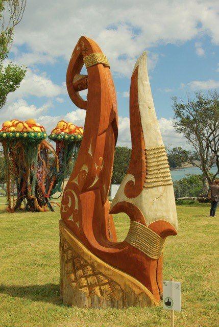 New Zealand Sculpture ON Shore III raises money for Woman's Refuge