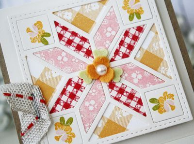 93 best Quilt square cover-up Die examples images on Pinterest ... : quilt dies - Adamdwight.com