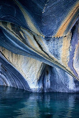 Marble Caves, Chile #beautiful#places#photography