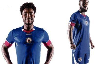 Haiti 2016 Copa América Seata Home Jersey