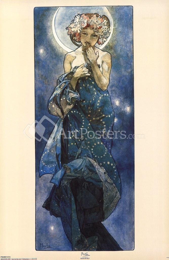 Alphonse Mucha poster artposters.com