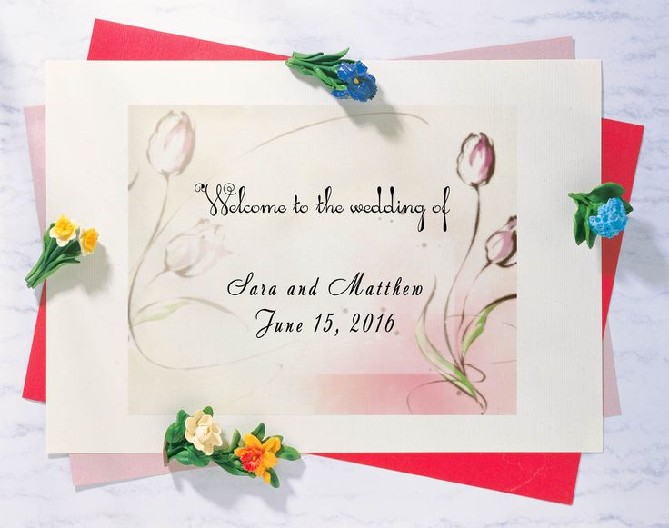 Watercolor edding invitation in bright colors, Printable Wedding Sign, Welcome Wedding Sign, Floral Wedding Sign, Custom sign by BumBon on Etsy #weddinginvitation