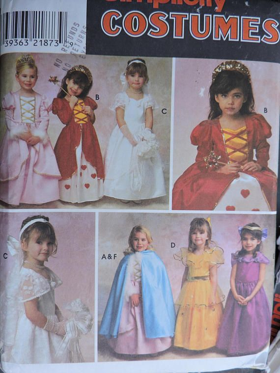 Bridal Dress-up Fairy Tale Dress Little Girls Princess Dress &