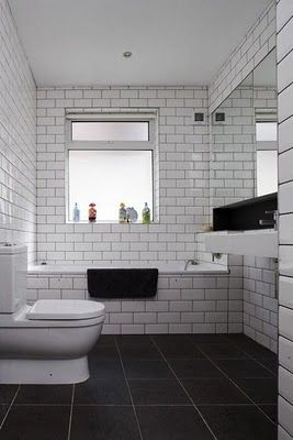 White Tile Bathroom Gray Grout best 25+ metro tiles bathroom ideas only on pinterest | metro