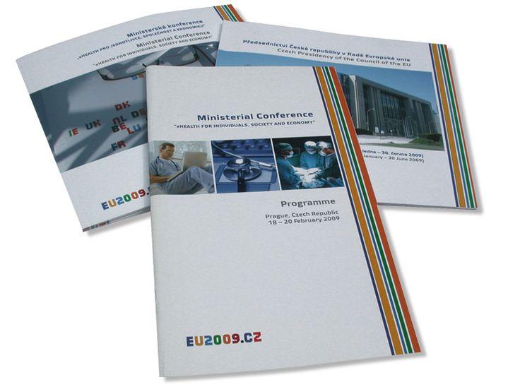 grafický design a sazba – merkantilie a firemní tiskoviny