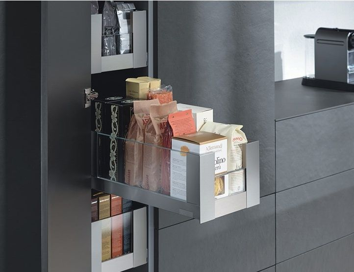 Apothekerskast Keuken Los : Blum voorraadkast keuken met handige indeling legrabox moderne
