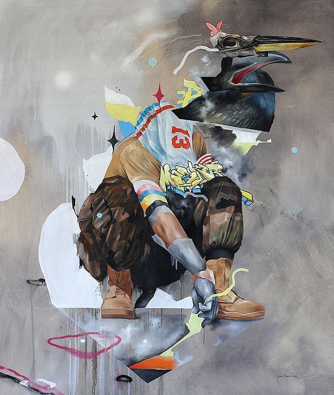 """From Joram Roukes's """"American Ornithology"""" -serie #Art #ContemporaryArt"""