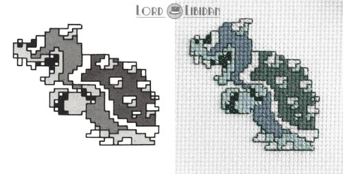 I do love concept art. They tell you so much about character creation. #mario #bowser #crossstitch @lordlibidan  https://lordlibidan.com/bowser-concept-art-cross-stitch/pic.twitter.com/w02V47BHkI