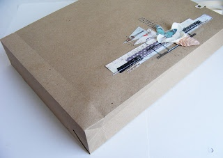 Чай с корицей: МК Бумажный пакет для альбома