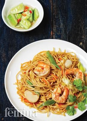 Mi Goreng Seafood Bangka