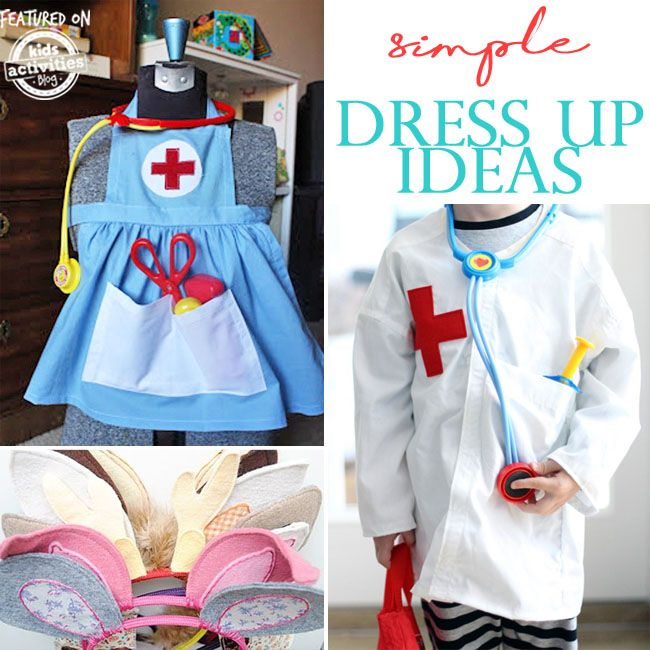 Top 20 Super Simple Dress Up Ideas Toddler Dress Up Clothes Boy Dress Up Clothes Kids Dress Up
