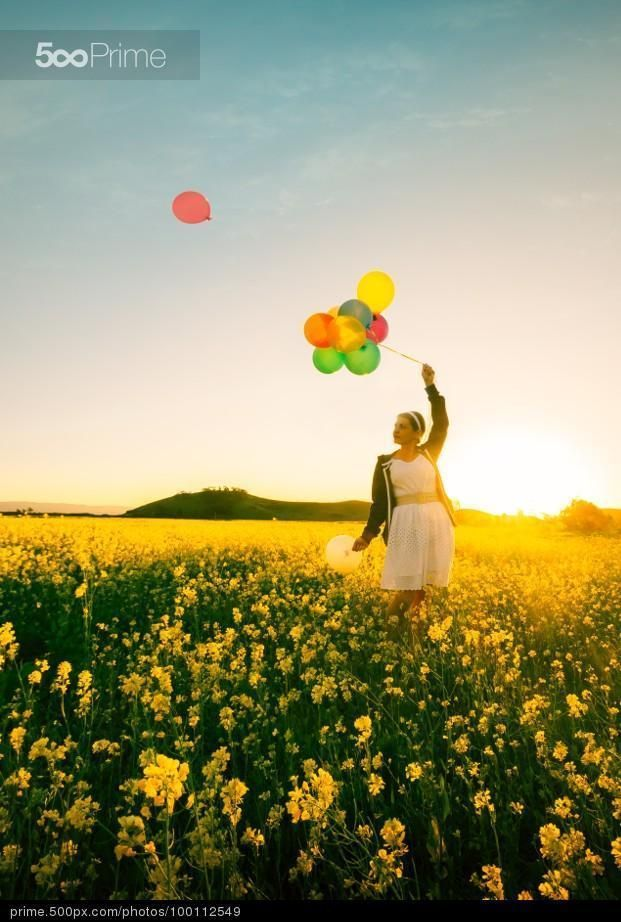 Balloon Girl by Rodrigo Soares