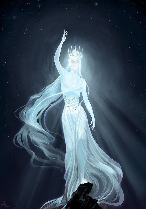 Eru Iluvatar by Elveo (The God of Arda)