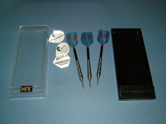 Vintage Set of 20 Gram MY Darts and John Lowe by BiminiCricket, $45.00