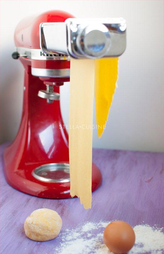Comment faire ses pâtes fraîches maison ? Avec machine à pâtes, sans machine à pâtes...   StellA Cuisine !!! Recettes faciles, Recettes pas chères, Recettes rapides