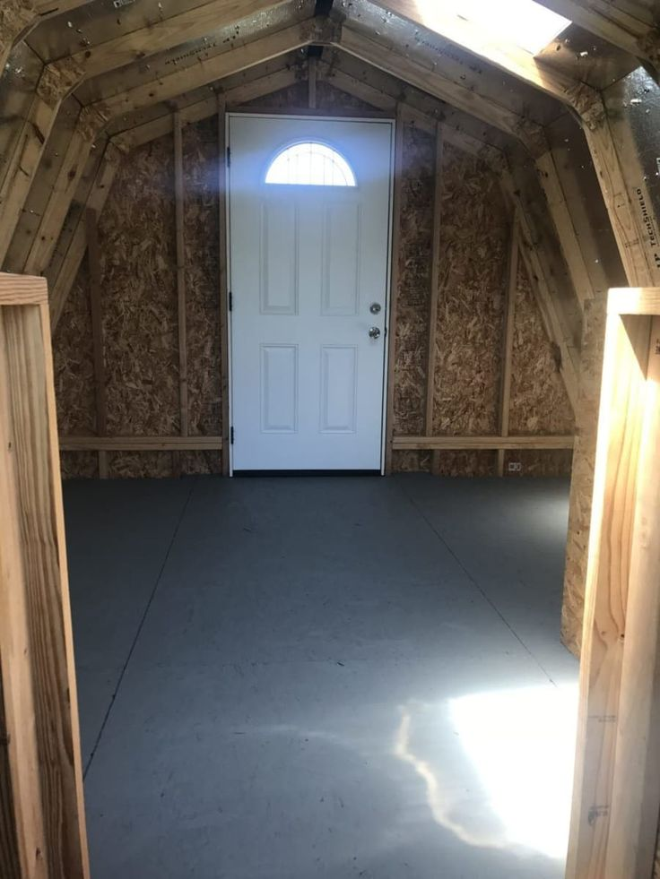 Barn studio apartment tiny house shell for sale in