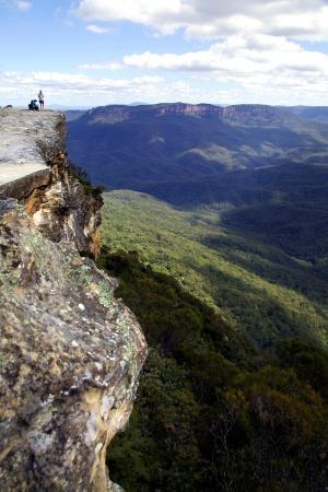 Blue Mountains National park near Sydney #Australia