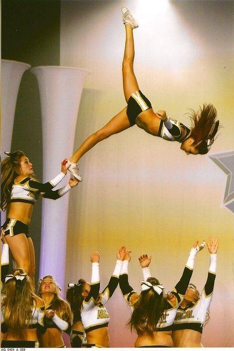 #cheer #stunt #flyer