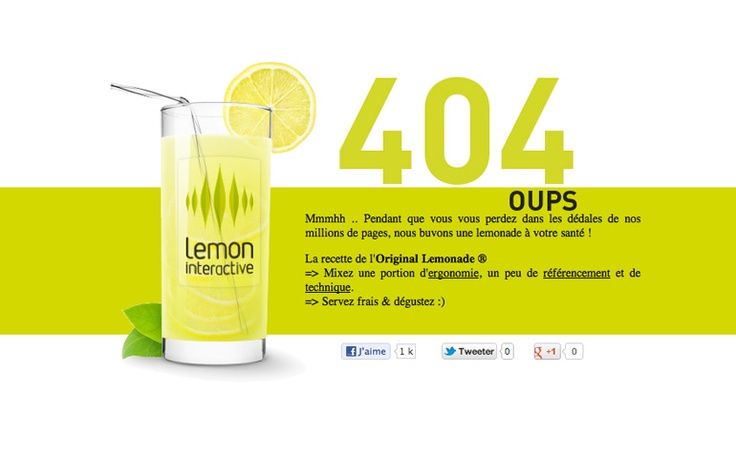 Lemon #best #creative #error #404 #page