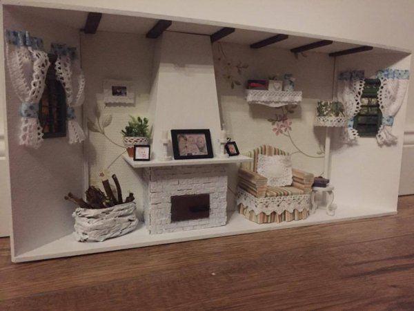 A lakberendezés mini világa. Ismerd meg Andrea hobbiját! | Lakásművészet