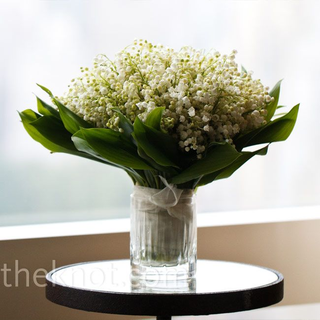 bouquet of lilies of the valley.@Dawn Hacken  Mom's favorite.