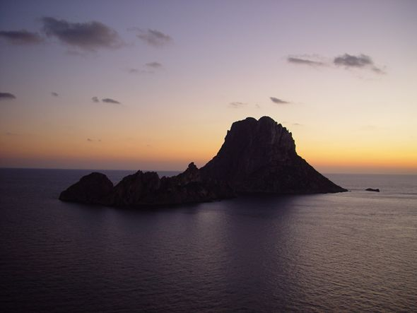 ES VEDRA - Famous landmark and Mysterious Rock island