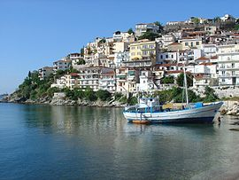 View of Kavala.