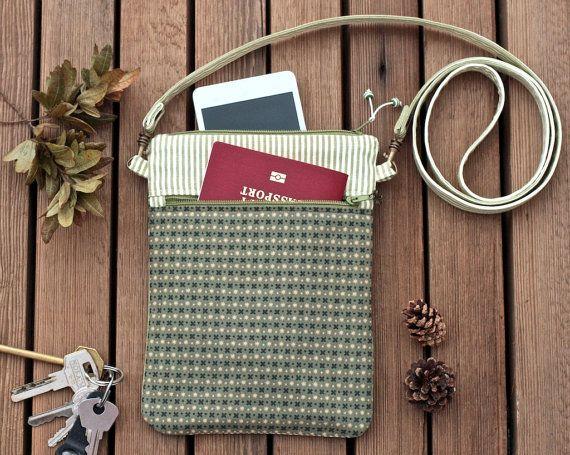 Mini crossbody purse hipster shoulder bag iphone 6 by KodamaLife