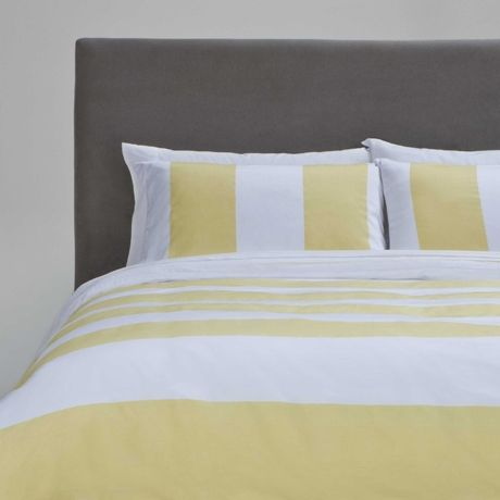 Fairhaven King Quilt Cover Set Yellow
