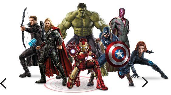 AVENGERS Marvel - I vendicatori all-characters