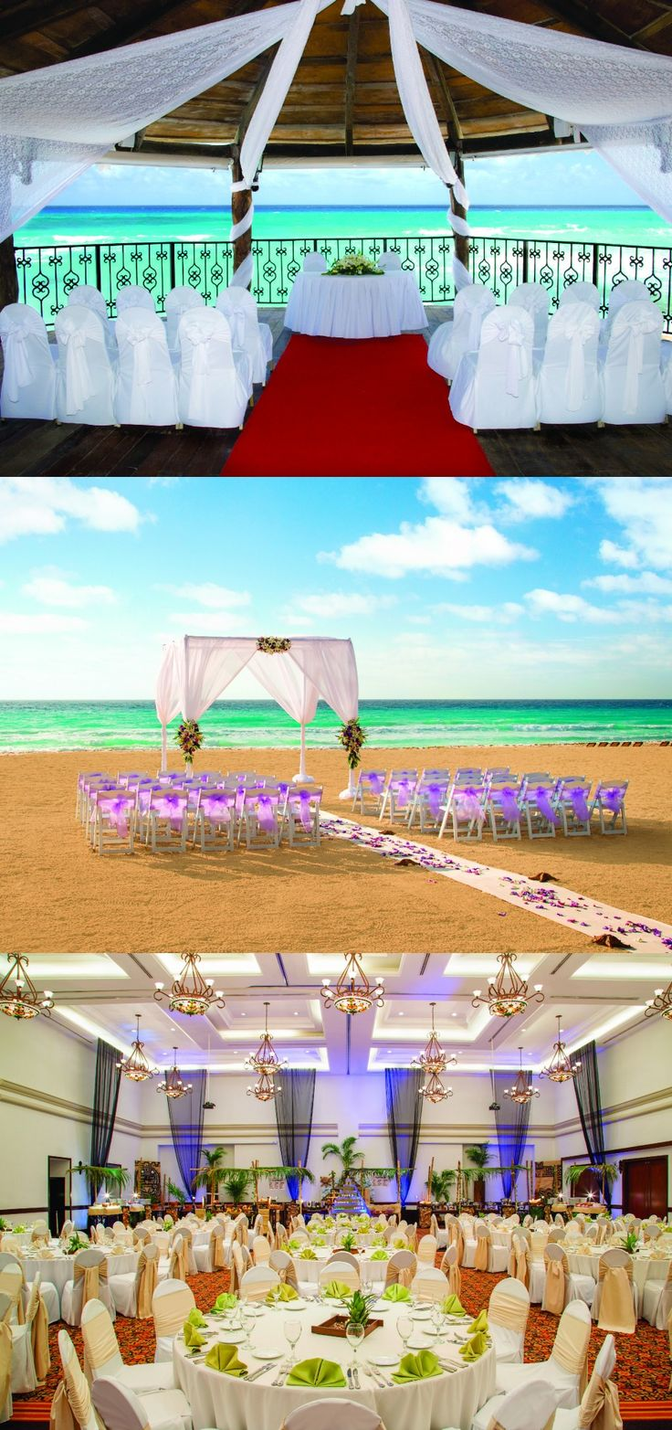 Planning or dreaming of a wedding anytime soon? The options at our all inclusive resort should be up to par. {Hyatt Zilara Cancun}