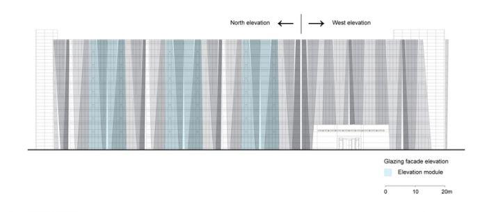 Fassade Bildergebnis für Glasfassaden-Entwurfsmuster