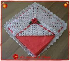 Resultado de imagem para servilletero flor servilletero lana,, crochet,