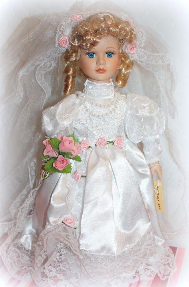 New Seymour Mann Doll 17 Quot Barbara Ann Bride Porcelain