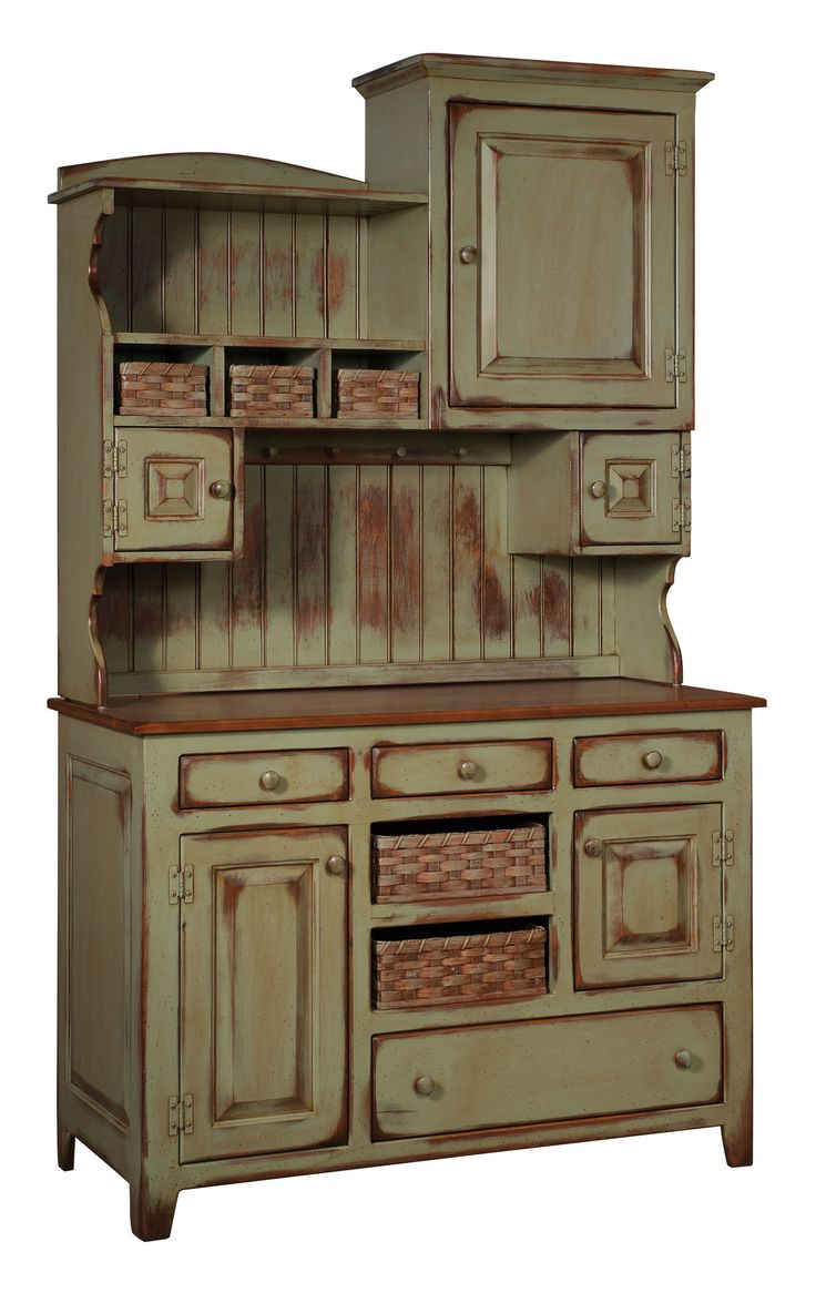 Features:  -Standard finish uses a sealer, 2 coats of paint, sand through then sprayed with stain and wiped off.  -Please be aware that actual colors may vary from those on your screen.  -Screws, rath