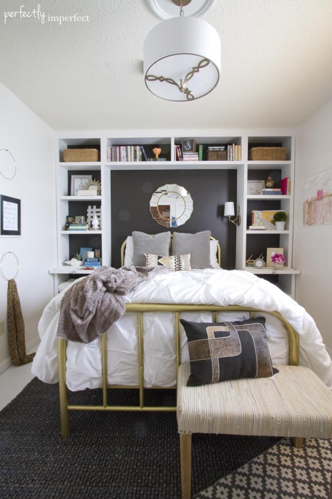 Great bedroom before and after - Julie's Bedroom Reveal | Perfectly Imperfect