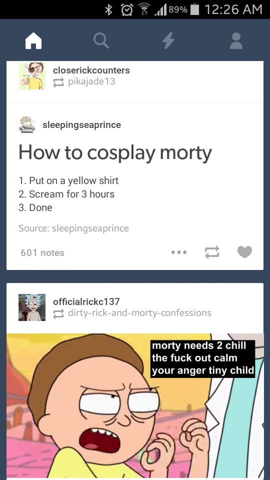 rick and morty cosplay | Tumblr