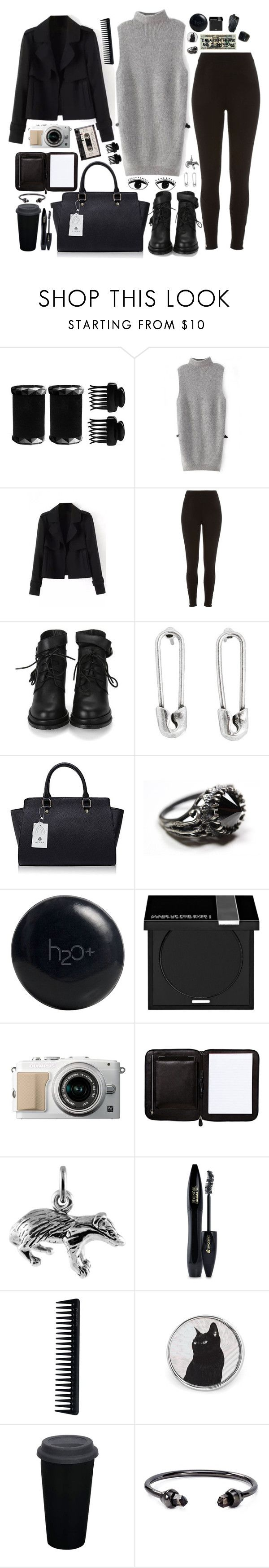 """""""LUCLUC 22"""" by branja ❤ liked on Polyvore featuring T3, River Island, Disney Couture, Handle, H2O+, MAKE UP FOR EVER, Nomadic, Saks Fifth Avenue, GHD and Marc by Marc Jacobs"""