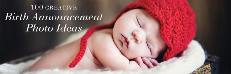 100 Creative Birth Announcement Photo Ideas