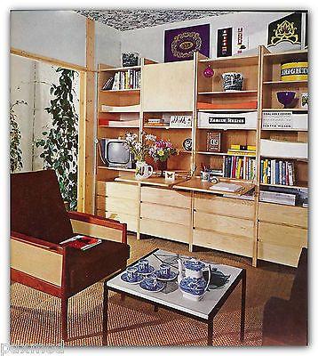 MODERN-INTERIORS-Eames-Saarinen-Juhl-Bertioa-Wright-Kahn-Rohe-midcentury-1964