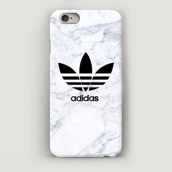 Mármol blanco iPhone 6 cubierta de la caja iPhone 7 más caso