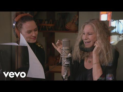 Barbra Streisand with Anne Hathaway and Daisy Ridley - At the Ballet - YouTube