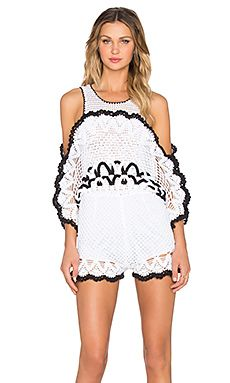 Alice McCall She's Royal Romper in White