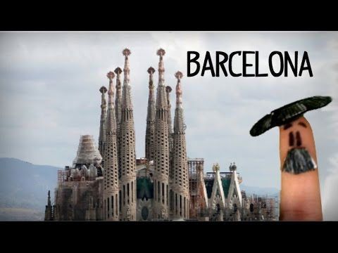 What to visit in Barcelona, tourist guide in spanish - YouTube