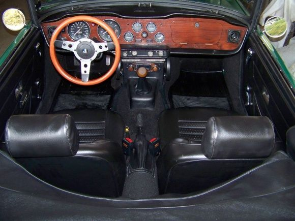 1974 Triumph Tr6 Green Restoration For Sale Interior Cars Pinterest Fresh Interiors And Bats