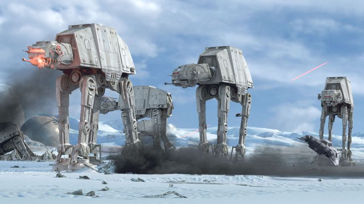 AT-AT Walker (All Terrain Armored Transport)