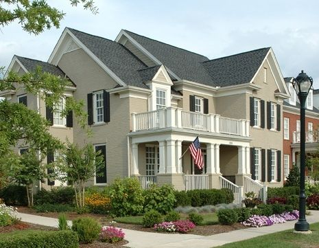Best Painted Brick Houses Images On Pinterest Painted Brick - Exterior ideas for brick homes